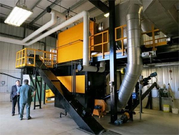 La chaudière à biomasse
