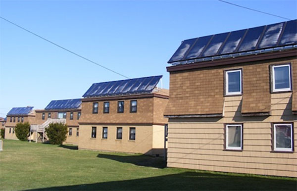 La série de capteurs solaires