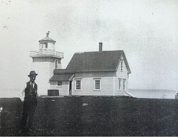 The original lighthouse