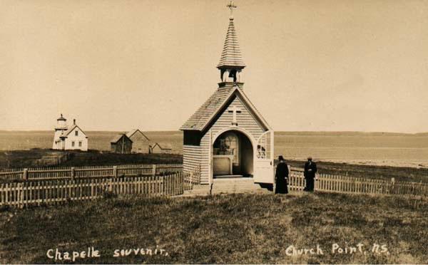 Le cimetière paroissial original