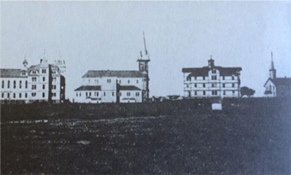 Photographie prise en 1905