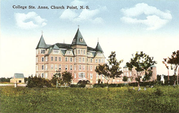 Postcard of Collège Sainte-Anne