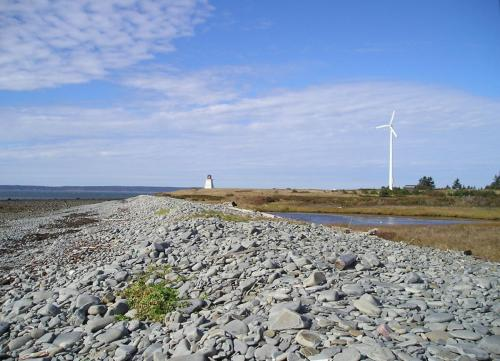 galets et éoliennes | beachstones and windmill